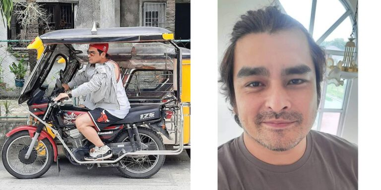 """Gwapings"" member Eric Fructuoso denies report that he's working now as tricycle driver: ""Hindi po totoong namamasada ako"""