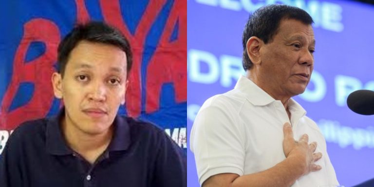 """Renato Reyes, may banat kay Pangulong Duterte: """"No one asked the President to swim in the floods"""""""
