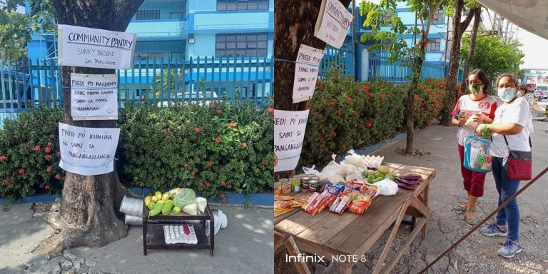 Community pantry sa General Trias, nag umpisa lang sa 1,500 pesos na ambagan